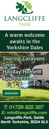 LANGCLIFFE PARK CAMPING AND CARAVANNING SETTLE WAY OF THE ROSES