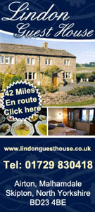 LINDON GUEST HOUSE ACCOMMODATION | AIRTON | YORKSHIRE DALES
