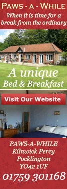 Paws a While bed and breakfast Pocklington
