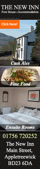 The New Inn Appletreewick accommodation food and drink