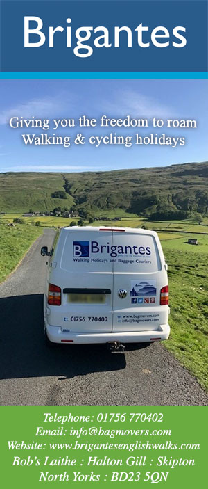 BRIGANTES WALKING AND CYCLING HOLIDAYS WAY OF THE ROSES AND THE YORKSHIRE DALES