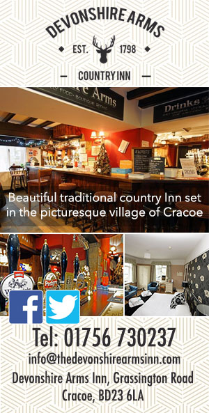 Devonshire Arms Inn Cracoe accommodation food drink cycle friendly yorkshire dales