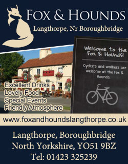 Fox and Hounds Boroughbridge food and drink