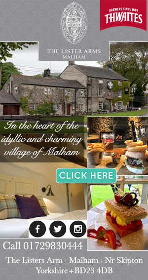 the lister arms accommodation food drink way of the roses yorkshire dales