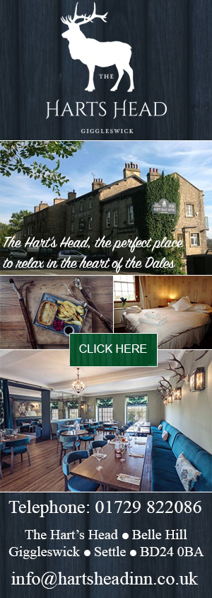 The Hart's Head  Giggleswick food drink accommodation