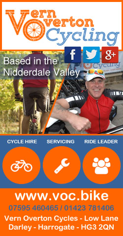 Vern Overton Cycling Bike Hire Servicing Leader Pateley Bridge