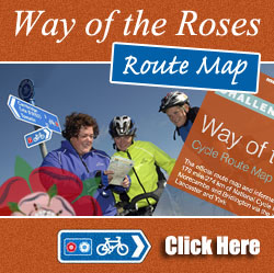 WAY OF THE ROSES ROUTE MAP
