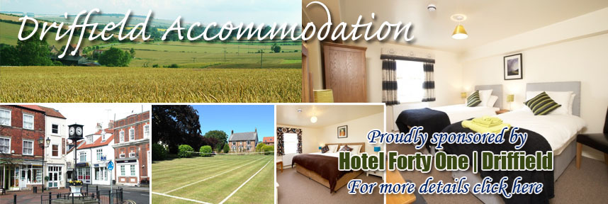 HOTEL FORTY ONE ACCOMMODATION DRIFFIELD WAY OF THE ROSES