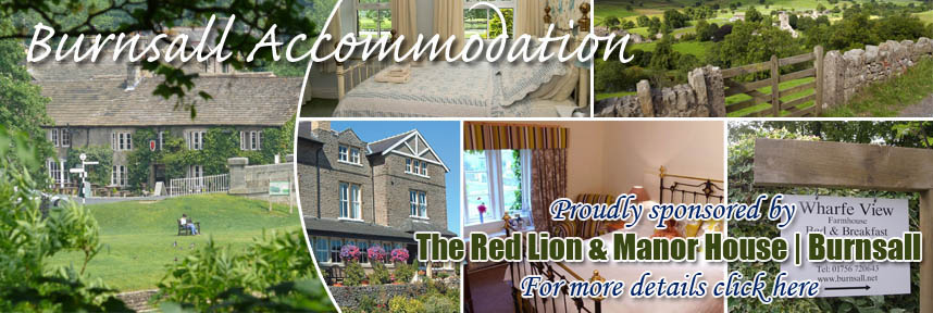 THE RED LION ACCOMMODATION BURNSALL WAY OF THE ROSES