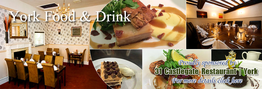 31 Castlegate Restaurant York Food and Drink Eat Stay Cycle Friendly Way of the Roses