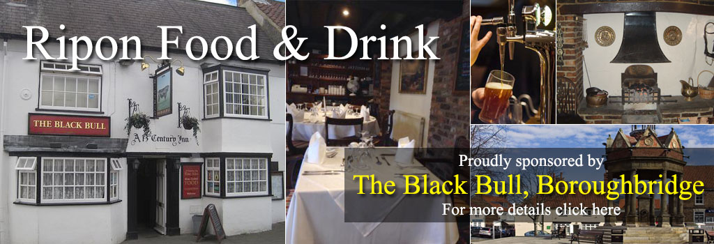 THE BLACK BULL INN FOOD & DRINK RIPON WAY OF THE ROSES