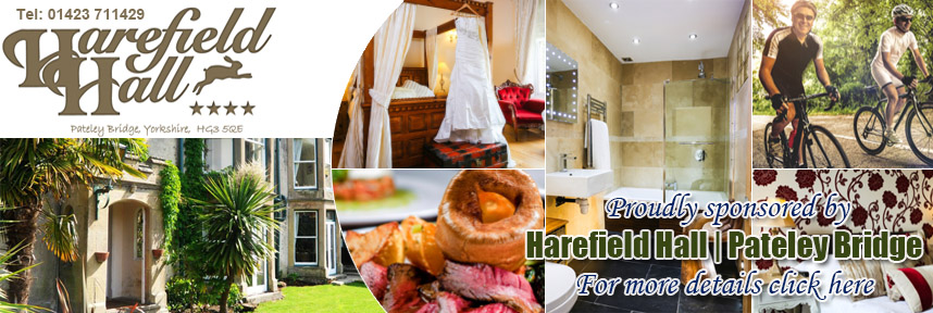 HAREFIELD HALL HOTEL ACCOMMODATION PATELEY BRIDGE WAY OF THE ROSES