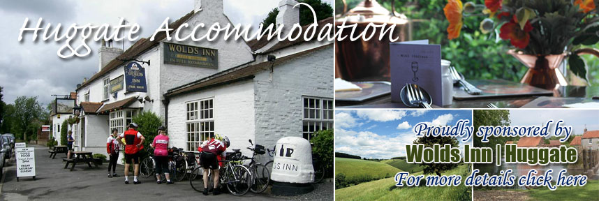 Wolds Inn Huggate accommodation food and drink cycle friendly
