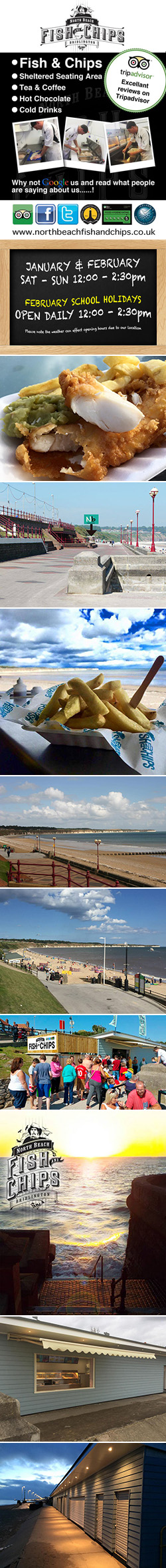 North Beach Fish & Chips | Bridlington