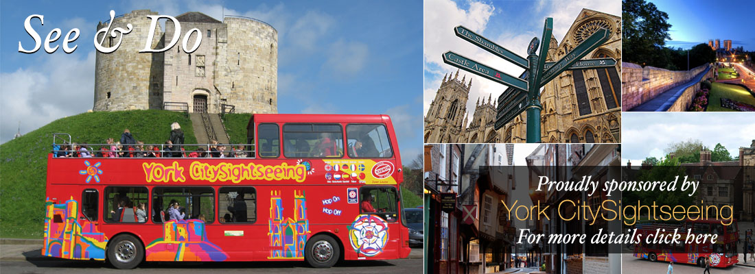 CITY SIGHTSEEING YORK ATTRACTION FAMILY FUN CYCLE FRIENDLY