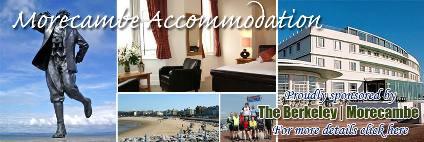 THE BERKELEY GUEST HOUSE ACCOMMODATION MORECAMBE WAY OF THE ROSES