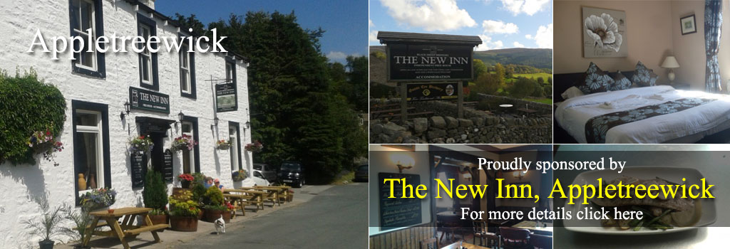 THE NEW INN APPLETREEWICK PUB INN FOOD ACCOMMODATION WAY OF THE ROSES