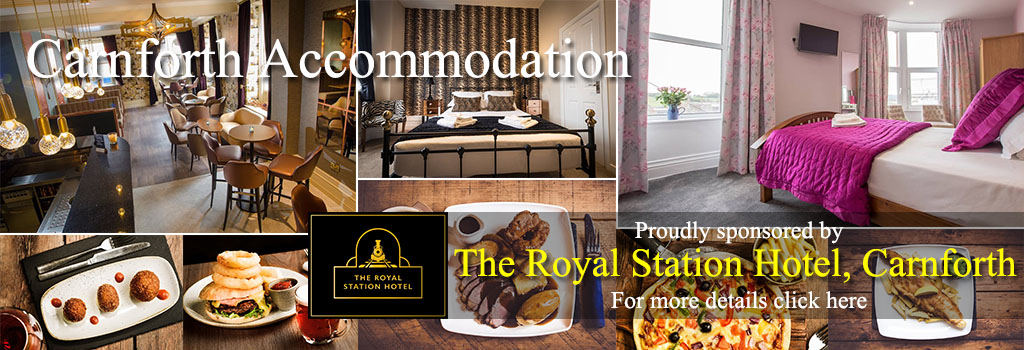 The Royal Station Hotel Carnforth accommodation food drink cycle friendly