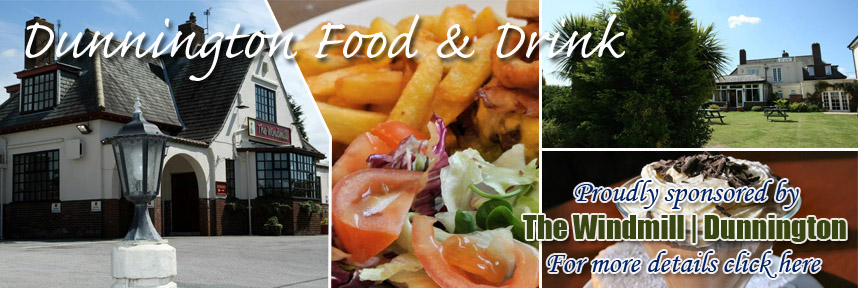 THE WINDMILL FOOD & DRINK DUNNINGTON WAY OF THE ROSES
