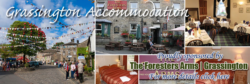THE FORESTERS ARMS ACCOMMODATION GRASSINGTON WAY OF THE ROSES