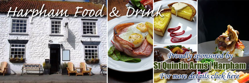 ST QUINTIN ARMS FOOD & DRINK HARPHAM WAY OF THE ROSES