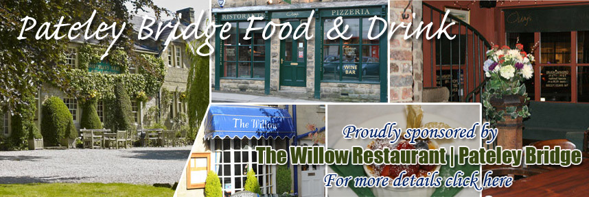 THE WILLOW RESTAURANT FOOD & DRINK PATELEY BRIDGE WAY OF THE ROSES