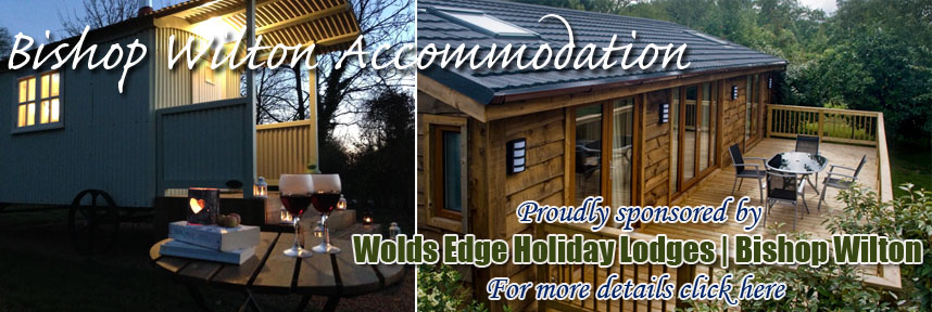 Wold Edge Holiday Lodges Bishop Wilton Shepherd Huts Accommodation